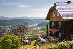 Urlaub in der Region Villach Hotels, Pause, Bergen, Wanderlust, Cabin, Sport, House Styles, Decor, Villach