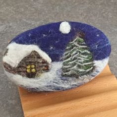 Just a quick update on some new winter themed felted soap. Each underlying soap is a bar of my cold process handcrafted soaps created from s. Felted Wool Crafts, Felt Crafts, Felted Soap, Felt Embroidery, Felt Christmas Ornaments, Felt Art, Winter Theme, Needle Felting, Wool Felt