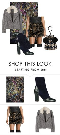 Elegant & Wild by rhymingscapes on Polyvore featuring MANGO, Helmut Lang and Michel Vivien