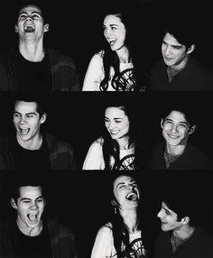 Dylan O' brien, Tyler Posey, crystal Reed my favorite actors from teen wolf