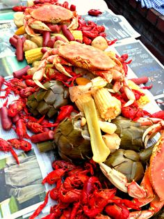 Seafood boil party ideas sausages Ideas for 2019 Seafood Broil, Seafood Boil Party, Seafood Pizza, Seafood Risotto, Seafood Lasagna, Seafood Bake, Seafood Stew, Seafood Appetizers, Seafood Dinner