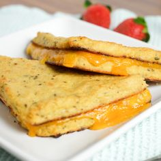 Grilled Cheese with Cauliflower as the Crust | Healthy Ideas for Kids