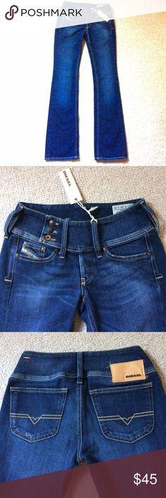 Selling this 💲SALE💲NWT Diesel Cherock low rise boot cut jeans on Poshmark! My username is: kitten_tot. #shopmycloset #poshmark #fashion #shopping #style #forsale #Diesel #Denim