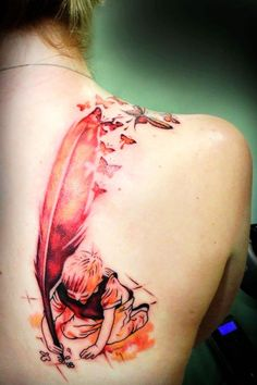 Fun tattoo idea on shoulder  #tattoo #girls #fashion  www.loveitsomuch.com