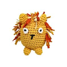 This Lion Tarn Toy is handmade with lots of fun love by the ladies in Humansdorp. It is crocheted with Cotton Tarn Yarn and filled with Eco Fibre Curl – a soft recycled plastic fibre. Doll Toys, Dolls, Cotton Beanie, Funny Bunnies, Sensory Toys, African Animals, T Shirt Yarn, Handmade Toys, Crochet Hats