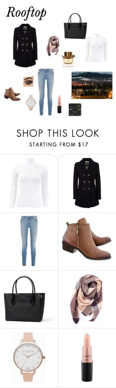 """Rooftop"" by lizzie-raye ❤ liked on Polyvore featuring Michael Kors, Geox, Givenchy, Everest, Olivia Burton, MAC Cosmetics and Burberry"