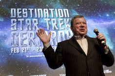 Destination Star Trek Frankfurt: Captain Kirk in Frankfurt   Frankfurter Neue Presse