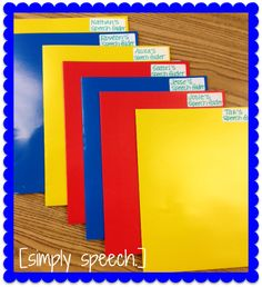 Homework Folders, Calendar, This Is How We Do It!-ways to stay organized and keep track of homework, meetings, etc. From Simply Speech. Pinned by SOS Inc. Resources @SOS Inc. Resources.
