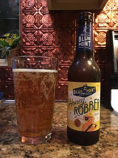 Honey Robber by Blue Point Brewing Company; Patchogue, NY.