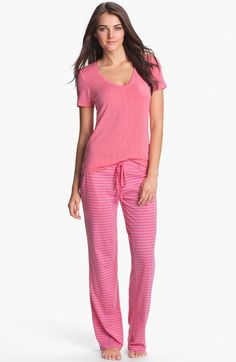 Daniel Buchler Lounge Tee & Pants  available at #Nordstrom