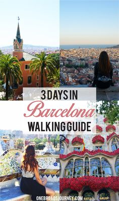 How to Explore Barcelona in 3 days - One Broads Journey