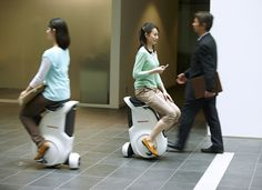 The Uni-Cub: A new personal mobility concept from Honda.