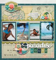 New from BasicGrey - South Pacific Collection - Scrapbook.com - Document all your summer travels with BasicGrey's new collection South Pacific!