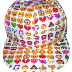 Emoji snapback! Cutest thing ever!