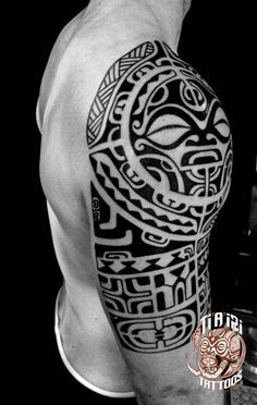 Tatuajes polinesios de hombro y pecho - Ti & # a & # tatuaje polinesio iri, Polynesian Tattoos Women, Polynesian Tattoo Designs, Filipino Tattoos, Maori Tattoo Designs, Neo Tattoo, Samoan Tattoo, Chest Tattoo, Tribal Tattoos, Body Art Tattoos