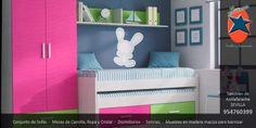 #Dormitorio #juvenil en #Sevilla. #Muebles y #Decoración La Ponderosa en San Juan de Aznalfarache.