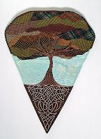 The Quilt Rat: Celtic Roots by Jill Buckley of Canada. From her blog post on May 30, 2010.