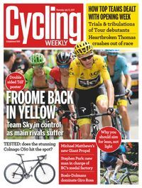 Members of Darlington Libraries can now read Cycling Weekly magazine for FREE on a computer, tablet or mobile - click the image to get started.