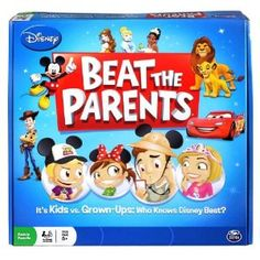 Amazon.com: Disney Beat The Parents Board Game - Who Knows Disney Best?: Toys & Games