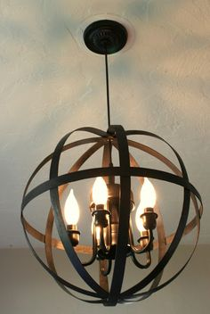 Lilliedale: Life is what you make it {pt.2}  DIY chandelier redo