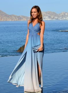 Sydne Style - Los Angeles fashion blogger Sydne Summer showcases nine Cutout Maxi Dresses for Summer to wear to beach chic weddings and other warm weather events.