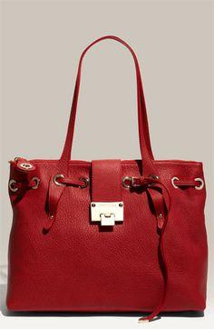 Jimmy Choo 'Rhea' Leather Shopper $1195