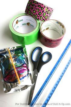 Doll Craft- Make a Doll Sized Beach Bag — Doll Diaries