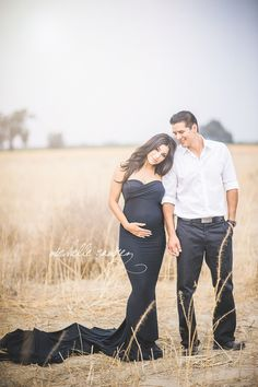 I just love beautiful maternity photos-Jessica Gown - Slim Fit Sweetheart Style Maternity Gown