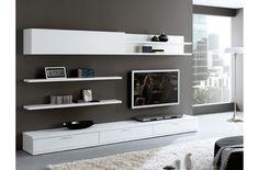 muebles para tv en pared modernos - Buscar con Google