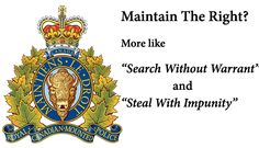 RCMP-Steal-Guns-From-High-River-Flood-Victrims Property Rights, Guns, Author, River, Search, Weapons Guns, Searching, Pistols, Writers