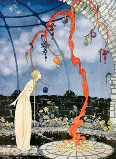 1920 Virginia Frances Sterrett (American artist, illustrator; 1900-31) from 'Old French Fairy Tales'