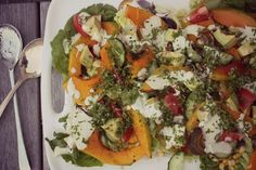 Squash & Avocado Salad