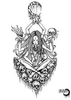 6571b4c4b64cb6005ec5de441490df9b--kali-ma-tattoo-sketches.jpg (483×683)