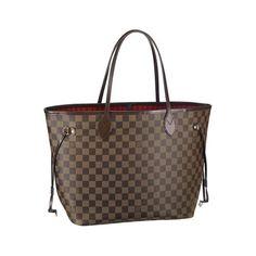 wishlist/grad prezzie: Louis Vuitton Neverfull MM Brown Shoulder Bag