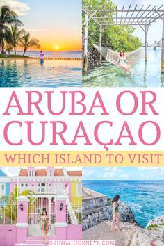 Choosing between Aruba and Curaçao is really difficult, especially because both destinations are worth a visit. Here's my take on Aruba vs Curaçao. #aruba #curacao #dutchcaribbean  | Caribbean vacation | Dutch Caribbean | Aruba travel | Curacao travel | Where to vacation | ABC islands | Top Caribbean islands | Curacao the island | is Aruba or Curacao better | where are Aruba and curacao