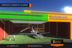 """#Hangar #aeropuerto #pbeltrom . Con @pbeltrom Construye el Hangar de tus sueños ubicado en el Aeropuerto Metropolitano . Conoce mas en: http://ift.tt/2pcw9de """"construimos tus sueños"""""""