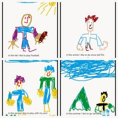 Mrs. T's First Grade Class: The Four Seasons: Student Books