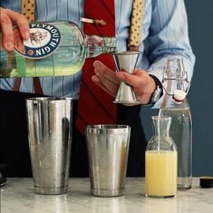 Tom Collins Cocktail with The Liquor Cabinet | West Elm