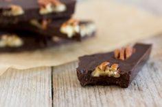 Kokosolie, ahornsiroop en cacao