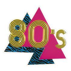 80-luvun bileet, seinäkyltti