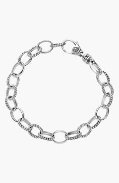 LAGOS 'Link' Caviar Chain Bracelet available at #Nordstrom
