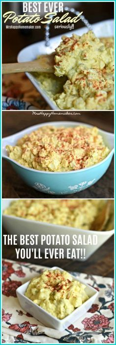 The BEST Potato Salad I've EVER Had!! (seriously!) This recipe has been handed down for 3 generations - the 'secret ingredient' is what makes it so good!!