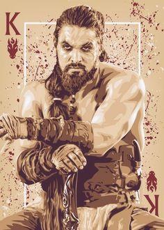I say a GOT DAMN!!!!! Khal Drogo ~ Game of Thrones