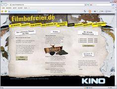 Kunde: Zukunft Kino Marketing - Kampagne - Website-Text und Aktionsentwicklung Quiz, Marketing, Movie, Future