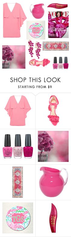 """""""Untitled #532"""" by yasm-ina ❤ liked on Polyvore featuring Halston Heritage, Alexandre Birman, OPI, Mario Luca Giusti, Physicians Formula and Effy Jewelry"""