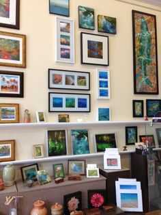 display at Artisans' Guild Gallery of Gainesville. Eva Egensteiner. photography