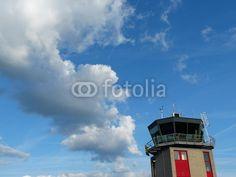 Tower des Segelflugplatz Oerlinghausen am Teutoburger Wald im Kreis Lippe in Ostwestfalen-Lippe