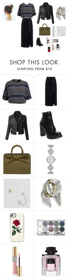 """Untitled #455"" by aydash-blogg ❤ liked on Polyvore featuring Brunello Cucinelli, A.L.C., LE3NO, Jeffrey Campbell, Mansur Gavriel, Kate Spade, ASOS, Hermès, Casetify and Yves Saint Laurent"