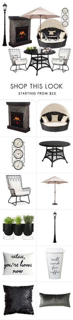"""Untitled #28"" by manarnassan on Polyvore featuring interior, interiors, interior design, home, home decor, interior decorating, Hearts Attic, Palecek, Zuo and Quarry"