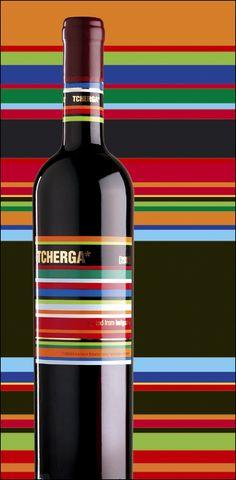 one more inspirational wine glass bottle shrink sleeve label design.   #etiquette #bouteille #shrink #sleeves #bottle #labels